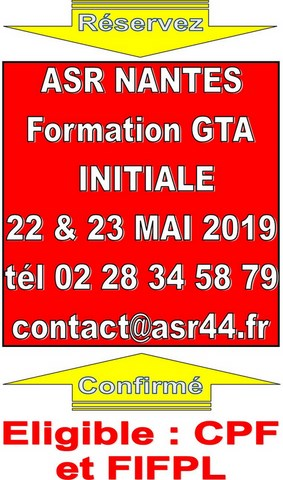 formation GTA initiale